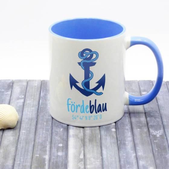 Kaffeebecher maritim bedruckt