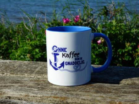 Norddeutscher Kaffeebecher Spruch