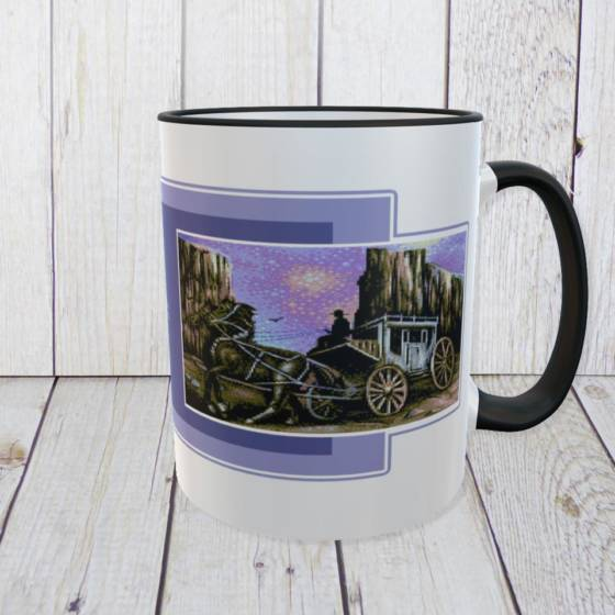 Commodore C64 Kaffeebecher 8-bit Retro Design 'The West is…'