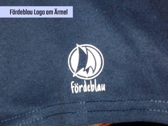 Fördeblau Logo am Ärmel