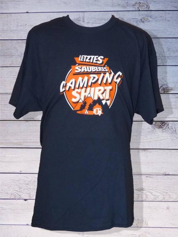 Camping T-Shirt - Letztes sauberes Shirt