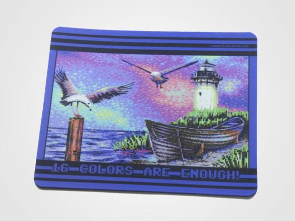 Commodore 64 Mousepad Another Flock of Seagulls