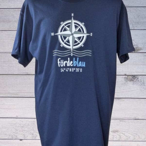 Maritimes Herren T-Shirt mit Kompassrose