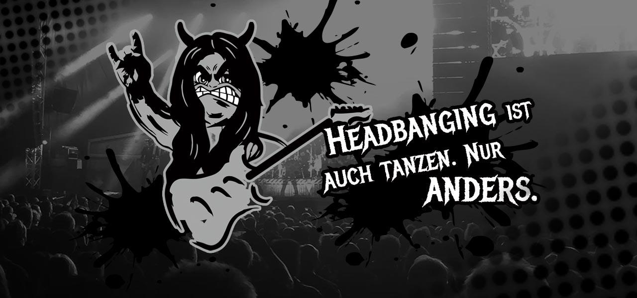 Online Shop für Heavy Metal und Hard Rock Zubehör, Shirts, Deko und Accessoires