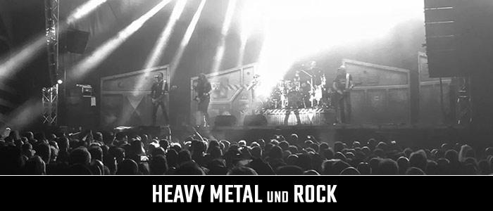 Heavy Metal und Rock Produkte Kategorie