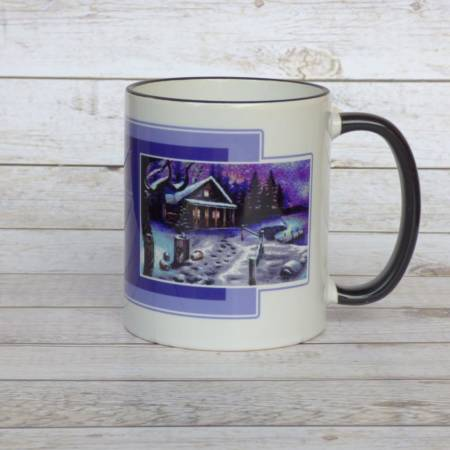"8bit Pixeldesign Kaffeetasse ""Winter is coming"""