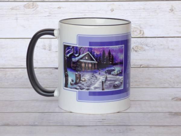 Retro Pixelgrafik Kaffeetasse Winter is Coming