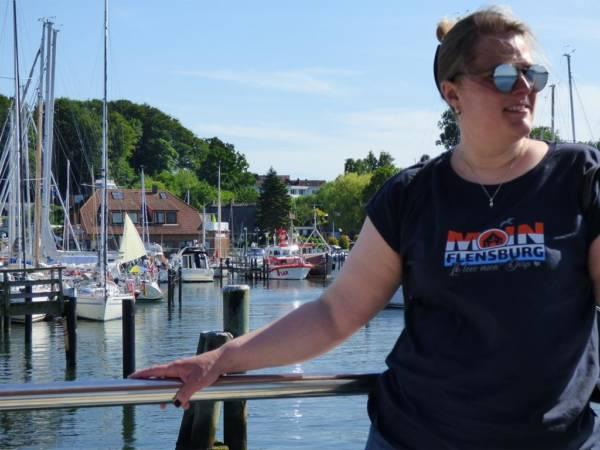 Flensburg Moin Damen T-Shirt