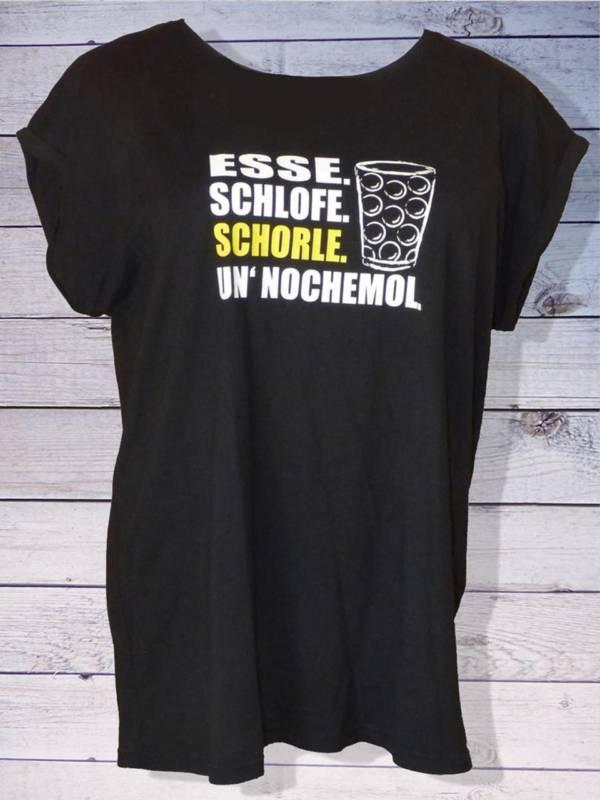 Lustiges Damen T-Shirt mit Pfälzer Spruch