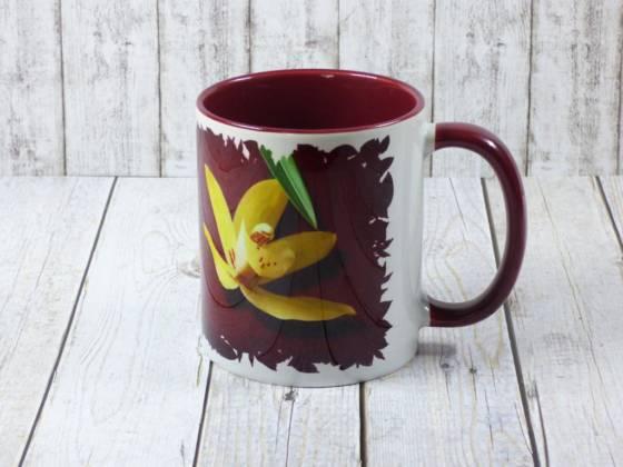 Cymbidium Kaffeebecher