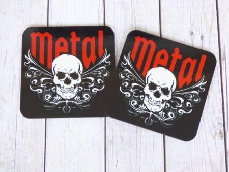 Metal Rock Shop Untersetzer