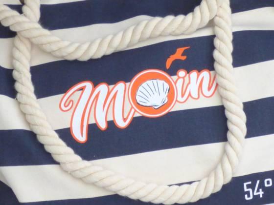 Moin Schultertasche - Maritim