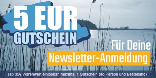 5EUR Gutschein für die Newsletter-Anmeldung