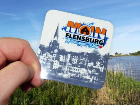 Skyline des Flensburger Hafens