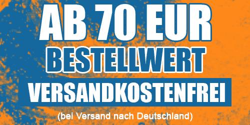 Ab 70 EUR versandkostenfrei bestellen