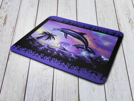 Commodore C64 8bit Pixel Graphixs Dolphins can fly