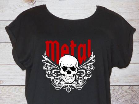 Heavy Metal T-Shirt Damen