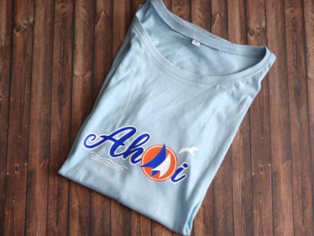 Nautisches Damen T-Shirt Ahoi