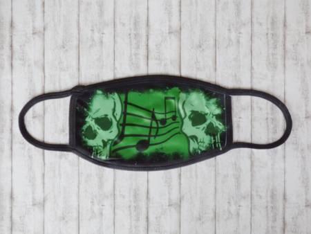 Alltagsmaske im coolen Totenkopf Design