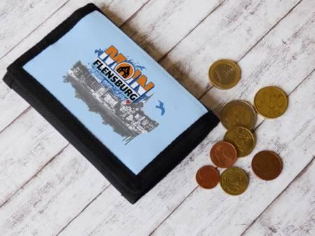 Kleiner Geldbeutel mit Flensburg Motiv