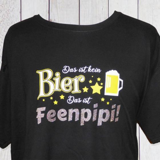 Witziges Shirt mit Spruch: Das ist kein Bier das ist Feenpipi