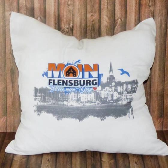 Dekokissen im Flensburg Design