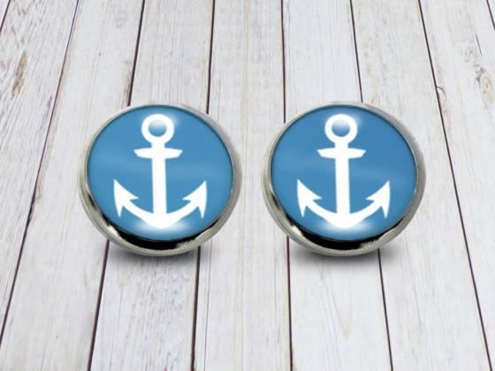 Ohrstecker Anker maritim